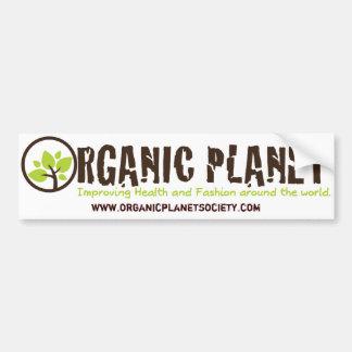 Pegatinas para el parachoques orgánicas del planet pegatina para auto