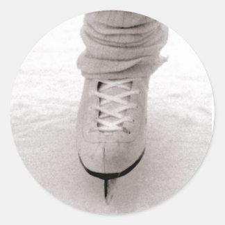 """Pegatinas """"patinadores"""" pegatina redonda"""