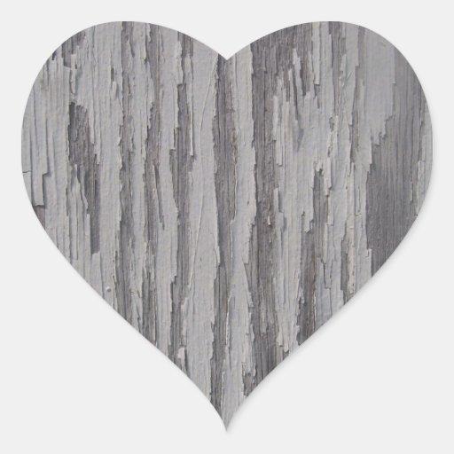 Pegatinas - pintura una de la peladura pegatina en forma de corazón