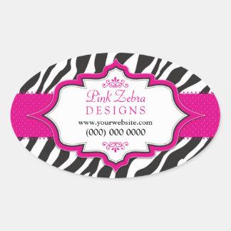 Pegatinas promocionales de la cinta rosada de la c