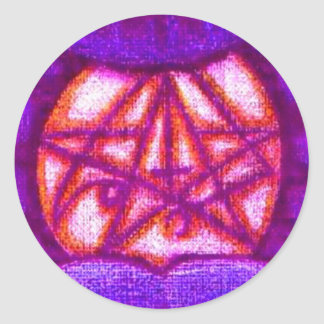 Pegatinas púrpuras de Sigil del miasma