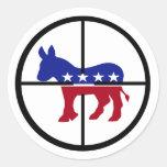 Pegatinas republicanos del francotirador