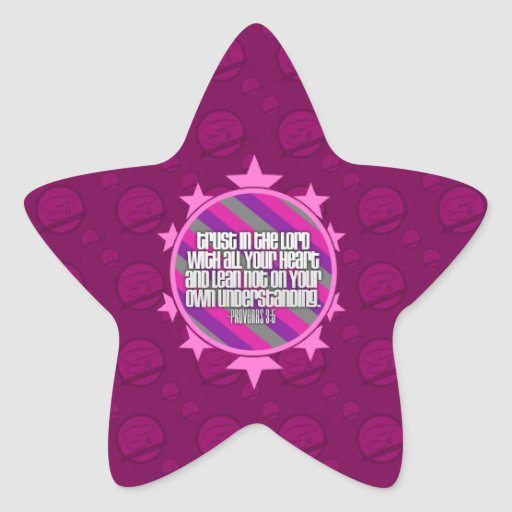 Pegatinas (rosados) de la estrella del 3:5 de los calcomanías forma de estrellaes
