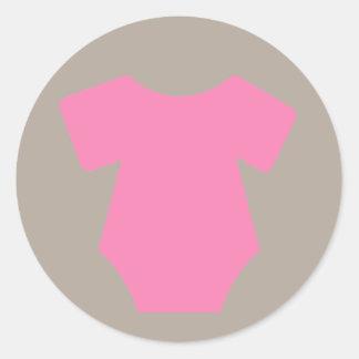 Pegatinas rosados del equipo