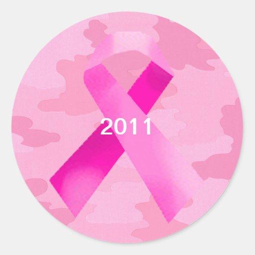 Pegatinas rosas claros de la fecha de la cinta del pegatina redonda