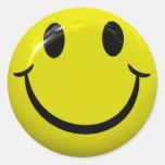 Pegatinas sonrientes de la cara