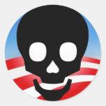 Pegatinas tóxicos de Obama