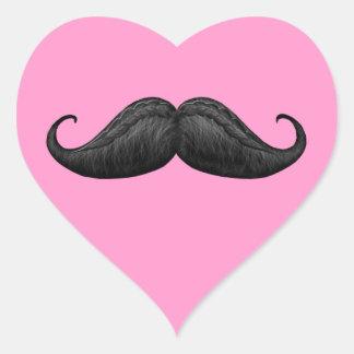 Pegatinas trenzados encerados corazón rosado del calcomanías corazones personalizadas