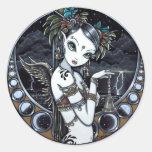 Pegatinas tribales góticos del arte del bailarín d