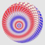 Pegatinas tricolores de Roundalls