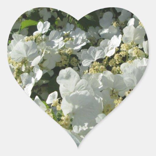 Pegatinas - Viburnum de Doublefile I Pegatina En Forma De Corazón