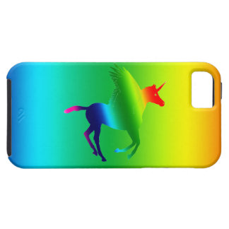 Pegaus in a Rainbow iPhone SE/5/5s Case