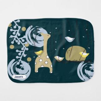 Pegeo Midsummer Night's Dream Elephant Burp Cloth