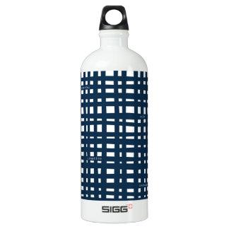 Pegeo Simply Me Classic Navy White Checker Bottle