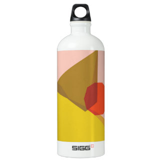 Pegeo Sunset Pink Clay Yellow Red Orange Traveller Water Bottle