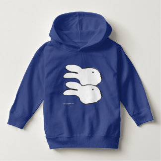 Pegeo White Bunny Daydream Toddler Pullover Hoodie