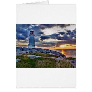 Peggies Cove Nova Scotia Canada Greeting Card