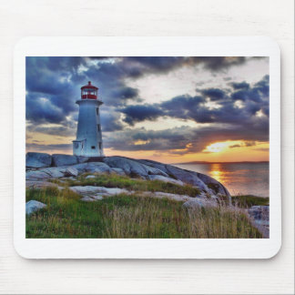 Peggies Cove Nova Scotia Canada Mouse Pad