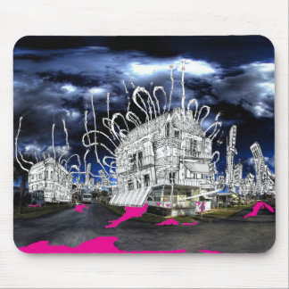 Peggy Jeans Diner Mouse Pad
