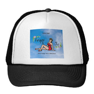 Peggy Jo Pin up Hat