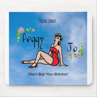 Peggy Jo Pin up Mouse Pad
