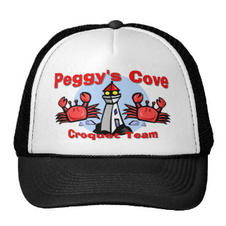 Peggy s Cove Croquet Team Trucker Hat