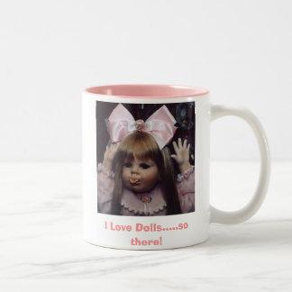 ¡Peggy Sue, amo las muñecas ..... tan allí! Taza De Café