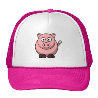 Peggy the Portly Pink Pig Hats