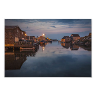 Peggy's Cove Harbour Photographic Print
