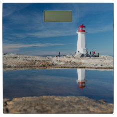 Peggy's Cove Lighthouse | Canada Bathroom Scale at Zazzle