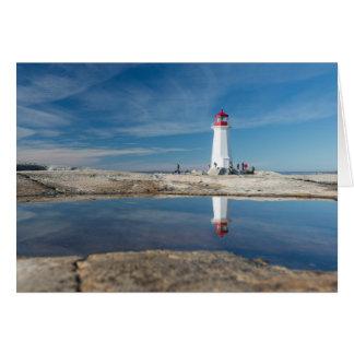 Peggy'S Cove Lighthouse   Canada Card