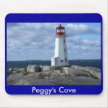 Peggy's Cove Lighthouse Mouse Pad