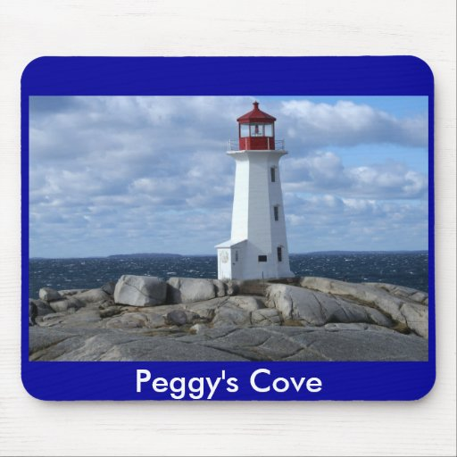 Peggy's Cove Lighthouse Mousepad