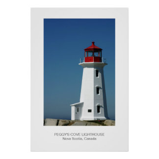 Peggy's Cove Lighthouse, Nova Scotia Poster