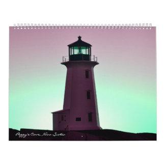 Peggy's Cove  Lighthouse Route Calendar
