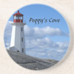 Peggy's Cove Lighthouse Sandstone Coaster