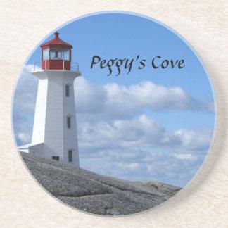 Peggy's Cove Lighthouse Sandstone Coaster