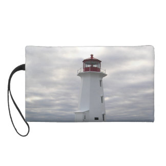 Peggy's Cove  Lighthouse wristlet purse clutch