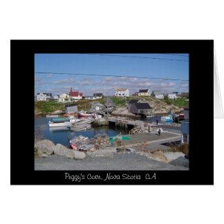 Peggy's Cove, Nova Scotia  CA Greeting Card