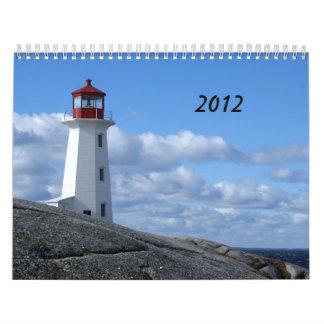 Peggy's Cove, Nova Scotia Calendar