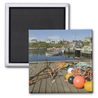 Peggy's Cove, Nova Scotia, Canada 2 2 Inch Square Magnet