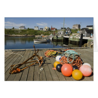 Peggy's Cove, Nova Scotia, Canada 2 Card