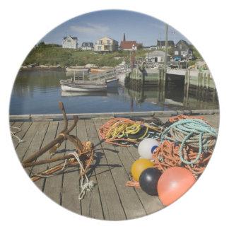 Peggy's Cove, Nova Scotia, Canada 2 Party Plate
