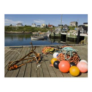 Peggy's Cove, Nova Scotia, Canada 2 Postcard