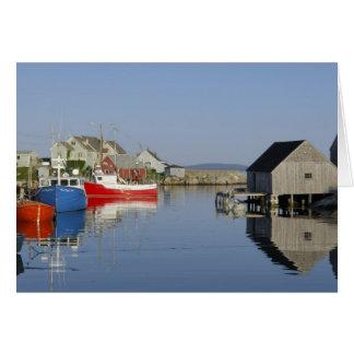 Peggy's Cove, Nova Scotia, Canada Card