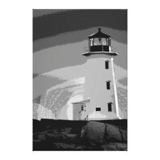 Peggy's Cove Nova Scotia Canada Custom Canvas