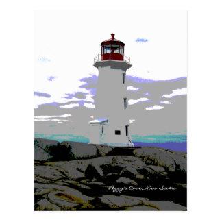 Peggy's Cove Nova Scotia Canada Post Card