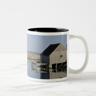 Peggy's Cove, Nova Scotia, Canada Two-Tone Coffee Mug