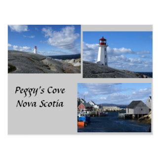 Peggy's Cove Nova Scotia Postcard