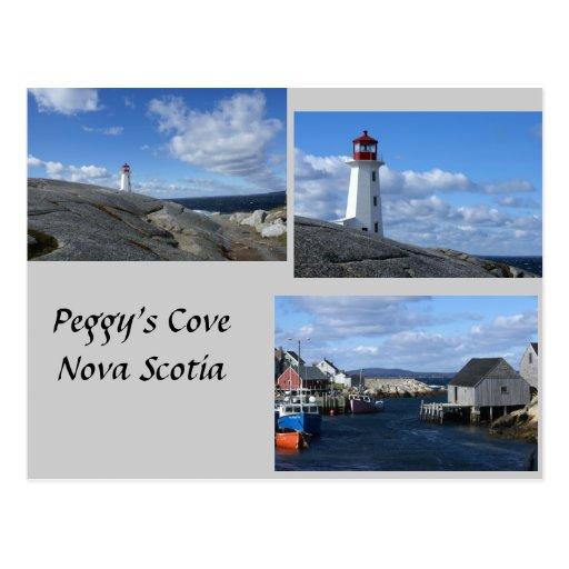 Peggy's Cove Nova Scotia Postcard